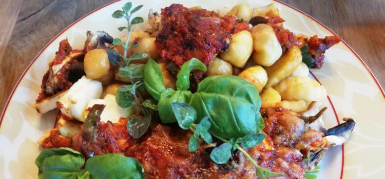 Gnocchi Gemüse Auflauf