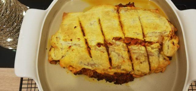 Gemüse-Tofu-Strudel