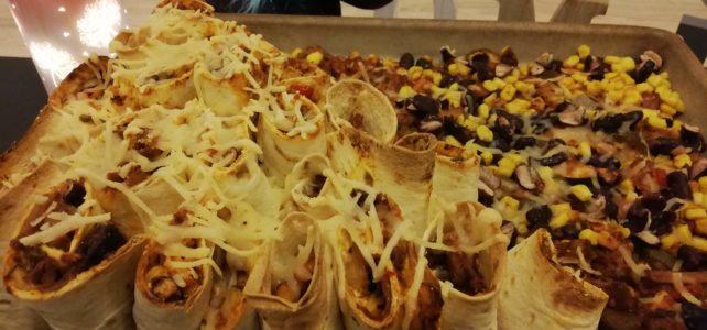 Wrap Platte – Döner Style, vegan